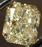 SOLD....Loose Diamond: 1.13ct Radiant Cut Fancy Light Yellow VS2 GIA Great Sparkle R3672