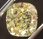 SOLD....Loose Diamond: 2.21ct Cushion Cut Fancy Intense Yellow SI2 GIA Cool Cut R3687