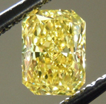 SOLD....Loose Diamond: .58ct Radiant Cut Fancy Intense Yellow VS2 GIA Very Vibrant Color R3713