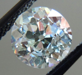 SOLD.....Loose Diamond: 1.30ct Old European Cut L/VS1 GIA Great Vintage Stone R3714