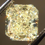 SOLD....Loose Diamond: 1.22ct Radiant Cut W-X VS2 GIA Sparkling Lemonade R3739