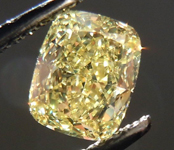 SOLD......Loose Diamond: .79ct Cushion Cut Fancy Yellow VS1 GIA Great Bargain R3793