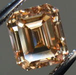 SOLD....Loose Diamond: 1.19ct Emerald Cut Fancy Yellow-Brown VS2 GIA Simply Stunning R3819