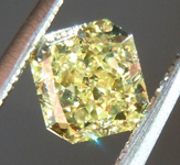 SOLD.....Loose Diamond: .72ct Radiant Cut Fancy Yellow VS1 GIA Cool Cut and Color R3830