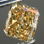 SOLD....Loose Diamond: 1.01ct Radiant Cut Fancy Deep Brownish Yellow I1 GIA Gorgeous Cut R3747