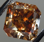 SOLD....Loose Diamond: 2.02ct Radiant Cut Fancy Dark Yellowish Brown SI2 GIA Rich Color R3757