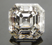 SOLD....Loose Diamond; .96ct Asscher Cut- Top light Brown, four step top R3877
