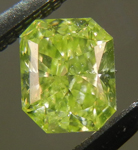 SOLD....Loose Diamond: .24ct Radiant Cut Fancy  Intense Green Yellow VS2 GIA Neon Green R3887