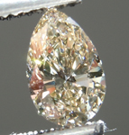 SOLD....Loose Diamond: .56ct Pear Shape M, Faint Brown VS2 GIA Laser Inscribed R3923