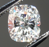 SOLD....Loose Diamond: .76ct Cushion Cut I/VVS2 GIA Lovely Chunky Cut R3933