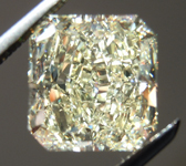 SOLD.....Loose Diamond: 2.56ct Radiant Cut W-X, Natural Light Yellow VS2 GIA Lovely Color R3969