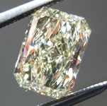 SOLD.....Loose Diamond: 1.31ct Radiant Cut W-X, Natural Light Yellow SI1 GIA Beautiful Cut R3974