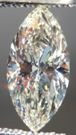 Loose Diamond: 1.00ct Marquise M/SI1 GIA Excellent Cut R4063