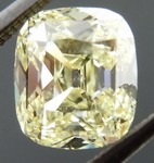 SOLD... Loose Branded DBL Diamond: 1.45ct Natural Light Yellow NOW SET GIA R4068