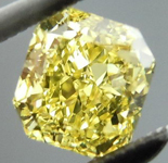 SOLD.....Loose Diamond: .70ct Radiant Cut Fancy Intense Yellow VS2 GIA Vibrant Stone R4135