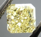 SOLD....Loose Diamond: .41ct Radiant Cut Fancy Yellow VVS1 GIA Beautiful Cut R4147