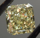SOLD.... Loose Diamond: .43ct Radiant Cut Fancy Yellow VVS2 GIA Fantastic Cut R4144