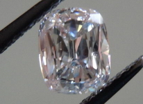 SOLD....Loose Diamond: .70ct Very Light Pinkish Brown Daussi Cushion Cool stone GIA R4238