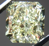 SOLD....Loose Diamond: 3.02ct Fancy Light Yellow VS1 Radiant GIA R3968