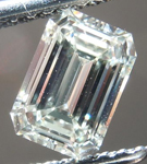 SOLD.....Loose Diamond: .76ct Emerald Cut L/SI1 GIA Beautiful Cut Laser Inscribed R4261