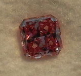 Loose Pink Diamond: .24ct Argyle Diamond Fancy Vivid Purplish Pink Radiant GIA and ARGYLE docs R4299