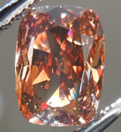 SOLD....Loose Diamond: 1.04ct Cushion Cut Fancy Dark Orangy Brown I1 GIA Bargain Beauty R4318