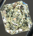 SOLD....Loose Diamond: 1.02 Light Yellow Radiant Diamond Shallow means large, save$ R4354