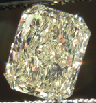 SOLD.....Loose Diamond: 1.04ct W-X, Natural Light Yellow VS2 Radiant Cut Diamond Great Value R4353
