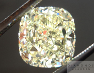 Loose Diamond: 3.03ct Cushion Cut Fancy Yellow SI1 GIA Amazing Sparkle R4423