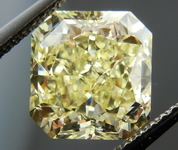 SOLD.....Loose Yellow Diamond: 3.18ct Fancy Yellow VVS2 Radant LARGE Sparkle GIA R4313