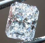 SOLD.....Loose Diamond: .85ct Radiant Cut E/SI2 GIA Totally Eye Clean R4465