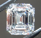 SOLD...Loose Diamond: 1.04ct Emerald Cut E/VS2 GIA Beautiful Cut R4471