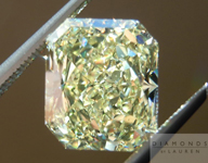 Yellow Radiant Cut Diamond: 3.86ct Fancy Intense Yellow VS2 GIA Amazing Stone R4488