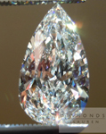 SOLD.....Pear Shape Diamond: 1.62 Pear Shape G/VVS1 GIA Organic Shape R4489