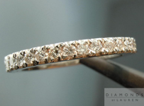 SOLD....Diamond Wedding Band: .32cts Platinum Diamond Wedding Band Special Price R3883