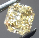 SOLD....Orange Yellow Diamond: .71ct Fancy Orange Yellow  VS2 Radiant Cut GIA Cool Color R4519