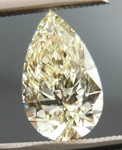 Loose Yellow Diamond: 1.02ct Q-R VVS1 Pear Shape GIA  R4628