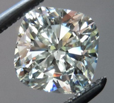 SOLD.... Loose Colorless Diamond: .92ct I/VVS2 Cushion Cut GIA Dazzling Sparkle Laser Inscribed R4689