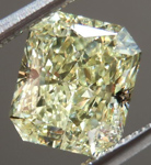 SOLD...Yellow Radiant Cut Diamond: 1.71ct Y-Z, Natural Light Yellow SI1 Radiant Cut GIA Stunning Stone R4706