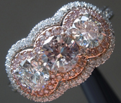 .40ct Fancy Light Pink SI2 Round Brilliant Diamond Ring GIA R4599