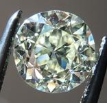 Loose Vintage Cut Diamond: 1.05ct N/VS1 Old European Brilliant Cut GIA Beautiful Stone R4733