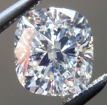 SOLD....Loose Cushion Cut Diamond: 1.01ct L/VS2 Cushion Cut GIA Great Cut Laser Inscribed R4705