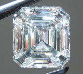 SOLD....Loose Colorless Diamond: 1.08ct I/SI1 Asscher Cut GIA Fantastic Cut R4815
