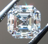 SOLD....Loose Colorless Diamond: 1.00ct G/VVS2 Asscher Cut GIA Lovely Steps R4814