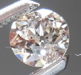 SOLD....Loose Brown Diamond: .32ct M-Light Brown VS2 Old European Cut Wacky Cool Stone R4459