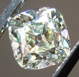 SOLD....Old Mine Brilliant: .66ct O-P VVS2 Branded DBL Modern Antique Diamond GIA R4772