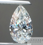 Loose Colorless Diamond: 1.60ct G/SI1 Pear Shape GIA What is a Twinning Wisp? R4782 