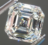 SOLD....Loose Colorless Diamond: 1.93ct K/SI2 Asscher Cut Fantastic Cut R4863