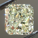 SOLD.....Loose Yellow Diamond: 2.02ct Fancy Light Yellow VS1 Radiant Cut GIA Lovely Stone R4862