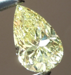 SOLD....Loose Yellow Diamond: .33ct Fancy Yellow SI2 Pear Shape GIA Beautiful Color R4887